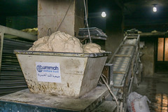 Preparing bread for displaced families in Ariha, Idlib (Ummah Welfare Trust) Tags: poverty children war islam aid hunger arab syria humanitarian إدلب، سوريا‭‬