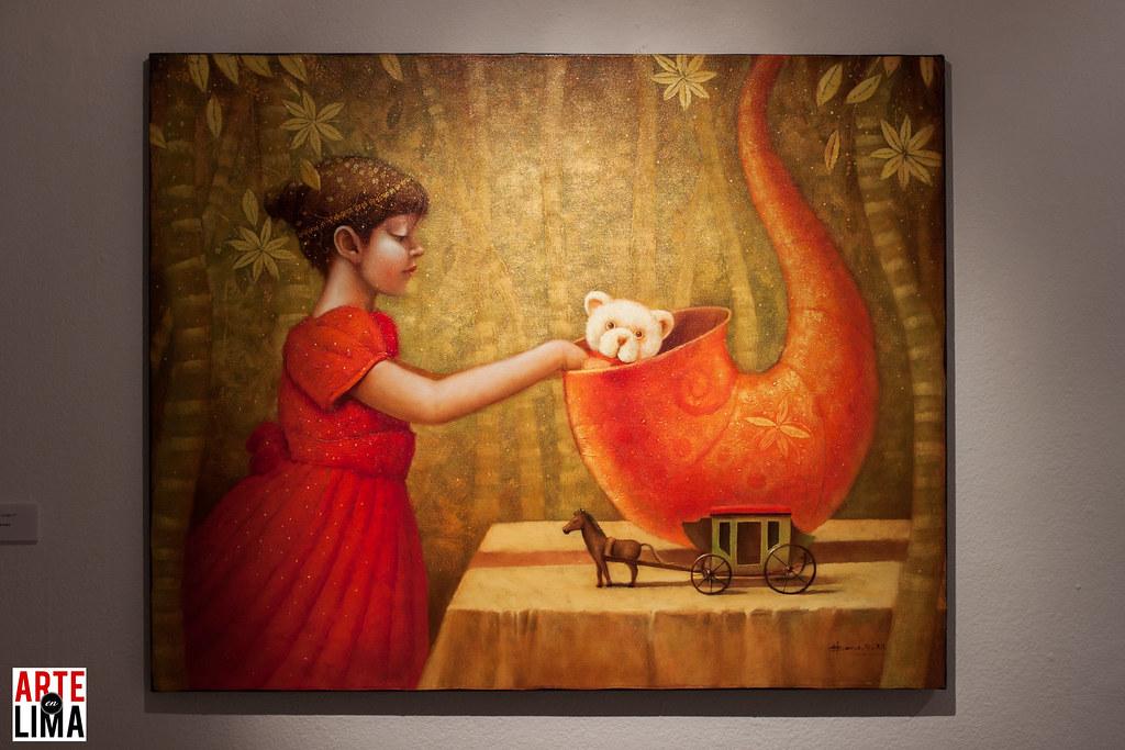 """Fredy Llerena - """"Mágico Realismo"""" en CC Ricardo Palma"""