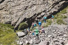Cajn del Maipo - Valles las Arenas (3) (lxrdrg) Tags: climbing montaa escalada cajondelmaipo escaladadeportiva vallelasarenas pareddejabba pareddejabbah