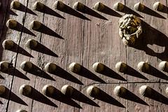 Door andalousia . Spain (courregesg) Tags: door spain graphic nails porte clous andalousia