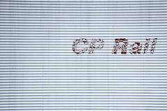 CP Rail (caribb) Tags: laval quebec qubec canada cprail sign truck faded fade logo