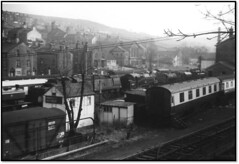 Early Preserved Steam Photos 2 (trafalgar45682) Tags: haworth locomotive yard 34092 city wells 80002 preserved steam