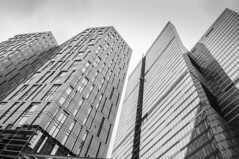 IQ Quarter (Marishka_Sav) Tags: moscow russia construction moscowcity highrise buildings      architecture modernarchitecture blackandwhite