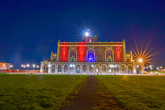 Full Moon over Convention Hall (seanbeebe_photo) Tags: fullmoon huntersmoon asburypark night conventon hall