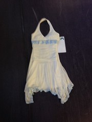 IMG_0791 (Vivid Motion Dance) Tags: vmcostume dress white handkerchief flowy halter zipclosure short