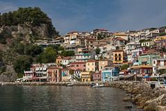 Parga (Thomas Mulchi) Tags: parga epirus greece 2016 traditionalhouses castle sea summer ipirosditikimakedonia gr