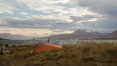 Wintertime (joningic) Tags: sea svalbarseyri svalbarsstrnd seaside slur mountains mountain nature northiceland boat sky akureyri iceland