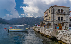 DSC04224-2 (UmitCukurel) Tags: kotor montenegro boat sea cloud island chapel sony sonyalpha summer