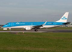 PH-EXE ERJ-190STD (Irish251) Tags: dub eidw klm dublin airport ireland embraer emb190 erj190 new service phexe