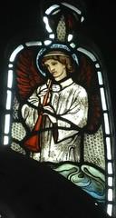 [45622] St Editha, Tamworth : Musician (Budby) Tags: tamworth staffordshire church window stainedglass preraphaelite