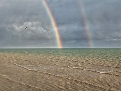 Double Rainbow off Worthing Pier (Ian Campsall) Tags: doublerainbow rainbow worthing england englishseaside nexus greatbritian