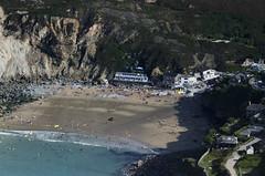 St Agnes Trevaunance Cove aerial image (John D F) Tags: stagnes trevaunancecove stagnesheritagecoast bay cove coast aerial aerialphotography aerialimage aerialphotograph aerialimagesuk aerialview