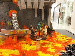 Star Wars Episode III: Revenge of the Sith @Ocean Terminal, Hong Kong (Jared Chan) Tags: lego legomochk legohk mylegocreation starwars legostarwars mustafar darthvader vader anakin obiwan jedi sith empire theforceisstronginmyfamily jaredchan moc
