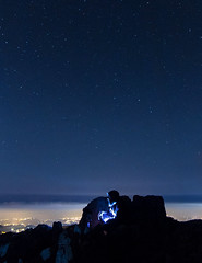 Living on the Edge (ramzisemrani) Tags: lebanon landscape lights love liban lebanonmountain landscapes livelovelebanon lebanonmountains jaj jbeil jesus jubbah stars cedars clouds colors camping above earth byblos blue lonely no one erath