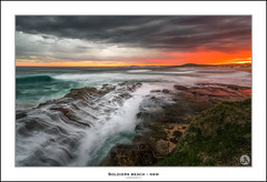 Soldiers Beach NSW (John_Armytage) Tags: soldiersbeach norahhead centralcoast johnarmytage australia nsw seascape sunset clouds nisifilters sonya7r2 sony1635