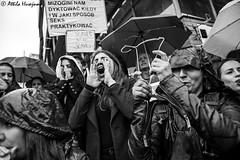 _ATI1219 (attila.husejnow) Tags: black protest blackmonday monday warsaw poland women woman abortion against demonstrate demonstration