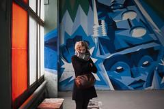 Street art museum in Sain-Petersburg (HeroinSavedMyLife) Tags: portrait abandoned streetart graffity color canon30d canon eos 30d zuiko olympuszuiko28mm35 streetartmuseum saintpetersburg russia girl manuallenses manual
