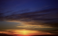 another sunset (one fran show) Tags: sunset nature mother socal california sky clouds natural pacific blue orange fluffy ocean water