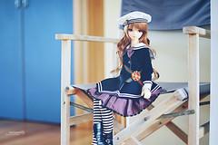 look for the girl (rainwaltz) Tags: bjd abjd balljointeddoll volks super dollfie sdgr sdgrg tae anais sailor blue decor home house living