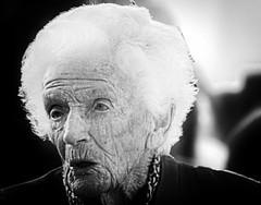 herstory (LeeJayDee) Tags: woman wrinkles old vintage street tonal contrast blackwhite bw