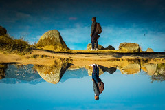Reflection, Realistic vs unrealistic world! (yugantarora) Tags: landscape morning reflections potrait mountains water reflection light shadow love india moment object scenery indian trekking painting karnataka southindia nikonist incredibleindia southasia love500px travelindia traveldiaries yerramaranahalli avalabetta indiatrip indiainmylens travelcaptures indiaimages indiapictures indiaheritage nikon nikonphotography nikonshot nikonflickr nikontop nikonphoto nikond3200 indiainlens southhills southindiatrip roadtrip indiahills reflect morningshot