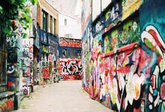 Graffiti Street (Batuhan A Priori) Tags: photography photo photoshoot photoart analog analogphotography analogue analoguephotography analogica analogcamera tudor film filmphotography filmart filmcamera oldcamera 35mm 35mmfilm 35mmfilmphotography exposure belgium belgica graffiti street art artwork gent