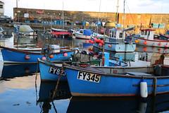 Blue Boats  Wait the Tide (zaktari) Tags: mevagissey cornwall