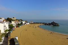 A view never to tire of (shirokazan) Tags: beach sand blue sky viking bay broadstairs kent england united kingdom uk sony dmcrx100 iv rx100 m4