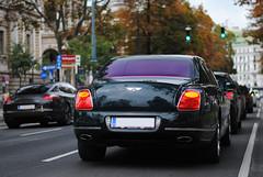 Porsche Panamera Turbo - Bentley Continental Flying Spur Speed (MarcoT1) Tags: porsche panamera turbo bentley continental flying spur speed austria sterreich vienna wien nikon d3000 50mm