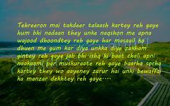 Tehreeron-mai-takdeer-talaash-kartey-reh-gaye (Ehsaas-e-aura) Tags: beautiful quotes life tehreeron mai takdeer talaash kartey reh gaye