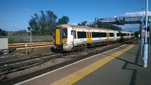 Southeastern 375802 at Ramsgate Depot
