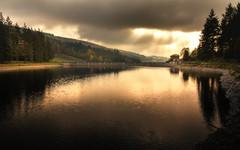 La gimond (S@ndrine Nel) Tags: dam barrage eau water ciel sky cloud house rai rays lumire light nelsandrine
