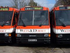 DSCF2611 WD 2530 K530UJT Salisbury 6 Mar 05 (Dave58282) Tags: bus wiltsdorset 2530 k530ujt