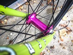 New wheels! (Mr. Biggs) Tags: crosscheck mrbiggs paulcomponents surly word beerbike bicycle bike fhub singlespeed wheel wheelbuild