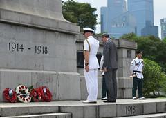 Img557701nx2 (veryamateurish) Tags: singapore remembranceday armisticeday wreathlaying cenotaph padang connaughtdrive singaporecricketclub