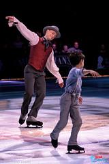 Kurt Browning (with son Dillon)