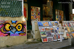 Art And Street Art (Saumil U. Shah) Tags: paris france therealsaumil saumilshah saumil shah spectrallines spectral lines streetphotography street photography montmartre colour colours color colors