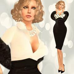 I'M FABULOUS !! (mimi.juneau *Mimi's Choice*) Tags: mimi juneau saschas sas fabulous femenine ladylike stole fur gizza jumo onix