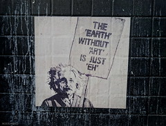 Kreweduzoo (BE'N 59. Street photographer) Tags: londres london streetart kreweduzoo einstein