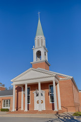 Asbury United Methodist Church, Charles Town, West Virginia, USA (JCTopping) Tags: charlestown westvirginia unitedstates us church methodist unitedmethodist asburyunitedmethodistchurch asbury jeffersoncounty hdr 1791