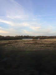 The Journey (My photos live here) Tags: tonbridge fields lake water morning dawn train south eastern sky commuting