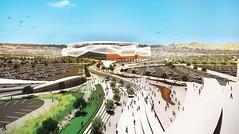 Проект футбольного стадиона в Сан-Диего от Populous