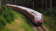 BR 628/629 Doppeltraktion kurz Brental (marcelmehlhorn) Tags: br 628 vt 629 6282 6284 brental dieseltriebwagen ersatzverkehr dreiseenbahn