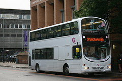 Exclusively Yours.... to Drumchapel (6A) (32555) (Strathclyder) Tags: street hope scotland eclipse volvo glasgow first wright gemini whitewedding osv 32555 b7tl firstglasgow sf54 sf54osv