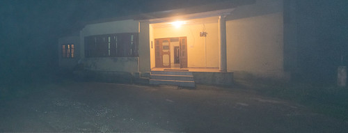Parashar Forest Dept Rest House at night