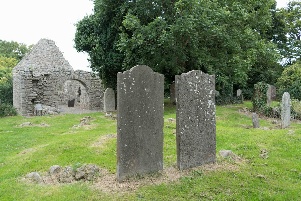 TULLY CHURCH AND THE LAUGHANSTOWN CROSSES [SEPTEMBER 2015] REF-108612