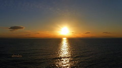 Sunset off the Coast of Iceland (abrideu) Tags: sunset sky iceland ngc npc abrideu dcmtz20