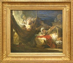 """Le berceau"", Jean-Honor Fragonard, vers 1760-1765. (Lejeune Grgory) Tags: france art museum muse lille palaisdesbeauxartsdelille jeanhonorfragonard expositionjoiedevivre"