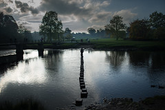 Bolton Abbey - Stepping Stones (Mark B Hewitt) Tags: abbey prime nikon g 28mm bolton nikkor f28 afs d610