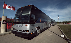 I went to Canada once... (Two8five) Tags: bus station coach edmonton viarail brewster prevost brewsters charterbus hseries chartercoach seatedcoach